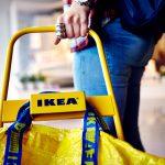 IKEAでの買い物の様子