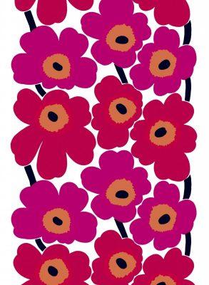 マリメッコの花柄のファブリック